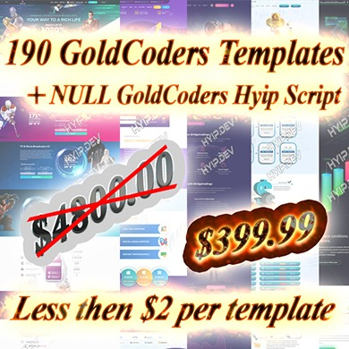 hyip template start from $2