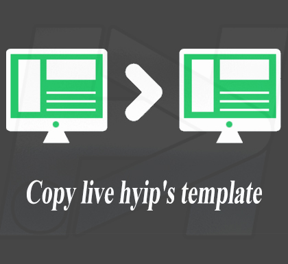 copy or clone hyips template