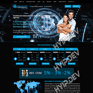goldcoders hyip template no. 019