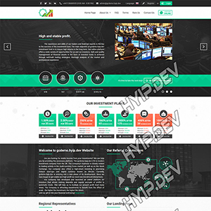 goldcoders hyip template no. 025