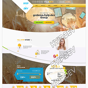 goldcoders hyip template no. 026