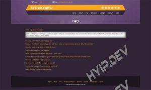 goldcoders hyip template no. 028 , pages screenshot