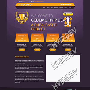goldcoders hyip template no. 028