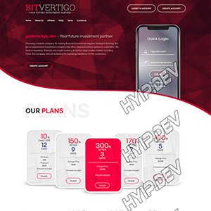 goldcoders hyip template no. 031