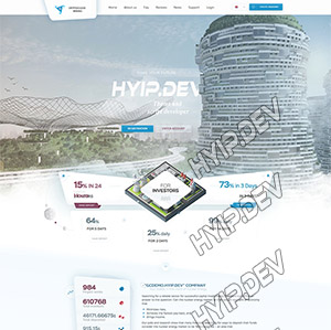 goldcoders hyip template no. 032