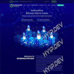goldcoders hyip template no. 033