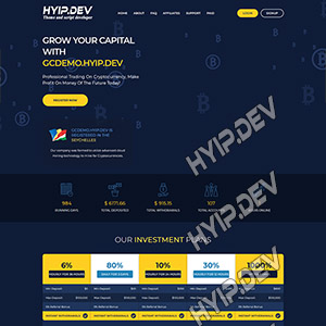 goldcoders hyip template no. 034