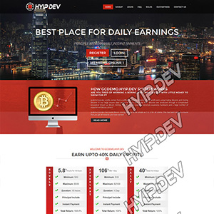 goldcoders hyip template no. 016