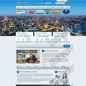 goldcoders hyip template no. 017