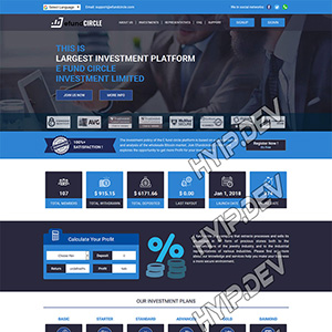 goldcoders hyip template no. 018