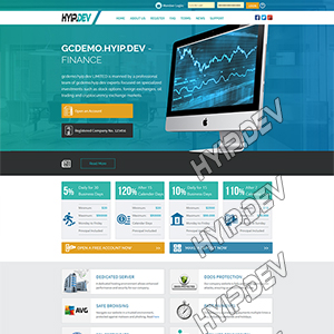 goldcoders hyip template no. 001
