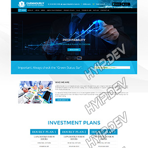 goldcoders hyip template no. 037