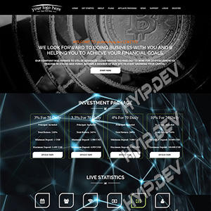 goldcoders hyip template no. 038