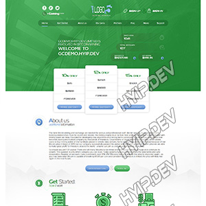 goldcoders hyip template no. 039