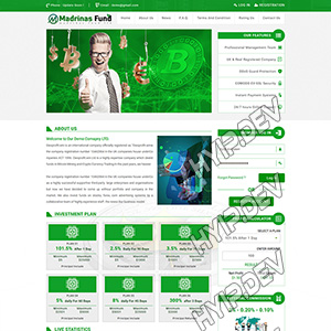 goldcoders hyip template no. 040