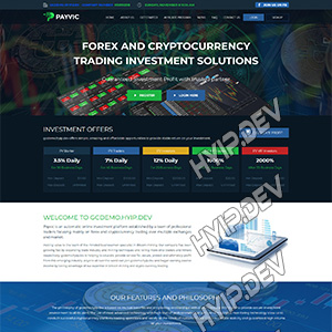 goldcoders hyip template no. 041