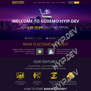 goldcoders hyip template no. 043