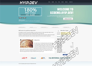 goldcoders hyip template no. 049