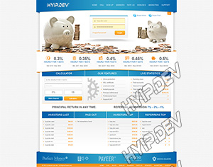 goldcoders hyip template no. 052