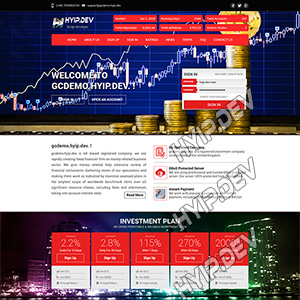 goldcoders hyip template no. 053