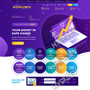goldcoders hyip template no. 054