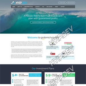 goldcoders hyip template no. 055