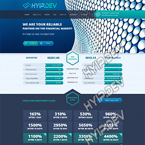 goldcoders hyip template no. 057