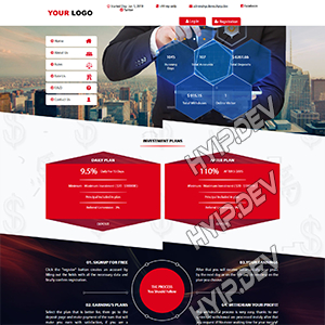 goldcoders hyip template no. 060