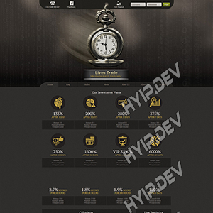 goldcoders hyip template no. 071