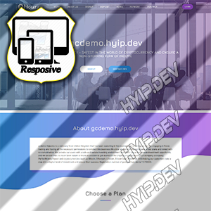 goldcoders hyip template no. 078