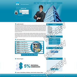goldcoders hyip template no. 079