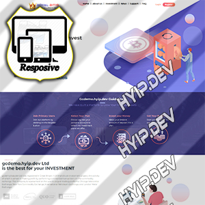 goldcoders hyip template no. 080