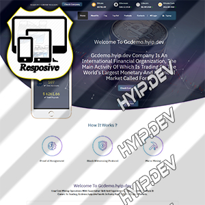 goldcoders hyip template no. 082