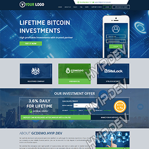 goldcoders hyip template no. 083