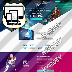 goldcoders hyip template no. 084