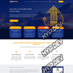 goldcoders hyip template no. 091