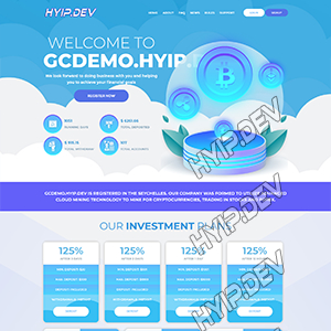 goldcoders hyip template no. 095
