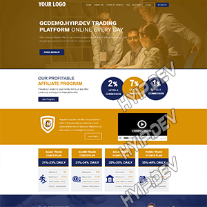 goldcoders hyip template no. 097