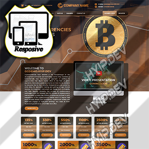 goldcoders hyip template no. 098