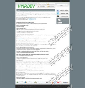 goldcoders hyip template no. 099, default page screenshot