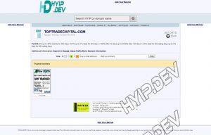 allhyipmonitors script details screenshot