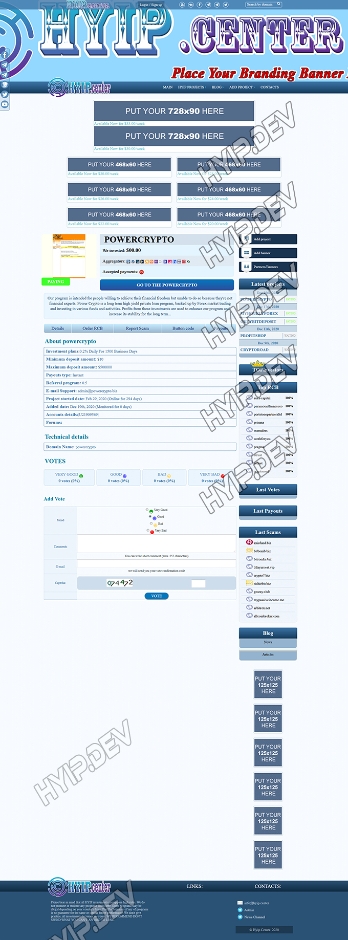 goldcoders lister template no 006 details