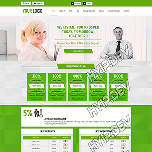 goldcoders hyip template no. 105