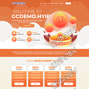goldcoders hyip template no. 107