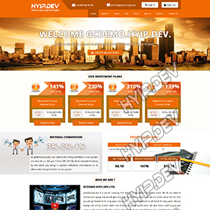 goldcoders hyip template no. 113