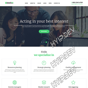 goldcoders hyip template no. 115