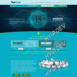 goldcoders hyip template no. 117