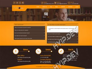 goldcoders hyip template no. 118, default page screenshot