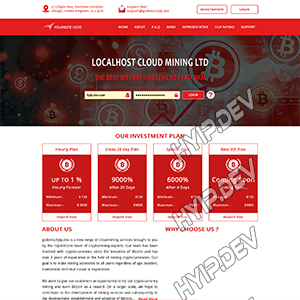 goldcoders hyip template no. 119