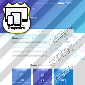 goldcoders hyip template no. 120